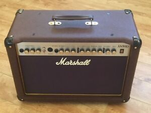 Marshall AS50D Acoustic Guitar Amp - Ampli Guitare