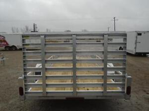 16' ALUMINUM TRAILER WITH ATV RAMPS - LOTS OF STANDARD FEATURES London Ontario image 3