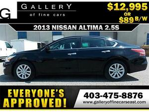 2013 Nissan Altima 2.5S $89 BI-WEEKLY APPLY NOW DRIVE NOW