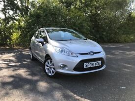 2009 FORD FIESTA 1.25 ZETEC SILVER MOT MAR 19 GREAT RUN AROUND/FIRST CAR MUST SEE £3750 OLDMELDRUM