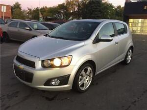 2014 Chevrolet Sonic LT,hatchback, auto, only 10k, cert, camera