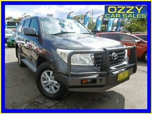 2008 Toyota Landcruiser VDJ200R GXL (4x4) Grey 6 Speed Automatic Wagon Penrith Penrith Area Preview