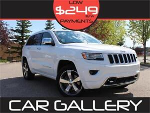 2015 Jeep Grand Cherokee Overland Eco Diesel, Pano Roof, Bluetoo