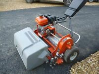 JACOBSEN TEES GREENS MOWER WITH COLLECTION BOX