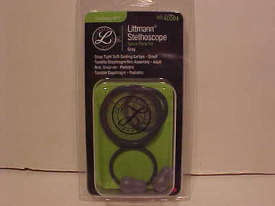 3m Littmann Cardiology Iii Replacement Kit Diaphragm And Rims Eartips 40004 Gray
