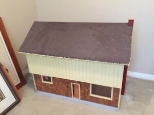 Hand Made Wooden Doll house