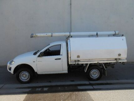 2011 Mitsubishi Triton MN MY11 GLX White 5 Speed Manual Cab Chassis Beverley Charles Sturt Area Preview