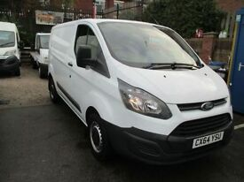FORD TRANSIT CUSTOM 2.2 290 SWB 125 BHP CUSTOM NEW SHAPE MODEL 51,000 (white) 2014