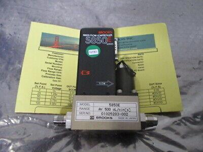 Brooks 5850E Mass Flow Controller, MFC, Ar, 500 mL/min[s], 452952