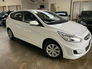 2016 Hyundai Accent RB3 MY16 Active White 6 Speed Constant Variable Hatchback South Melbourne Port Phillip Preview