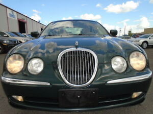 2001 Jaguar S-TYPE 3.0L V6 LUXURY SPORT PKG-LEATHER-SUNROOF