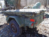 Looking for an old Military Trailer