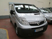 09 VAUXHALL VIVARO WHEELCHAIR ADAPTED 50 + ADAPTED VEHICLES IN STOCK