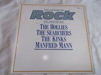 Vinyl LP The History Rock Vol 7 Hollies/ Searchers/ Kinks / Mann