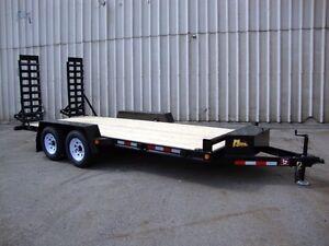16' Contractor Package Float Trailer - Loaded, Rea