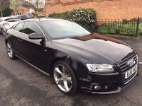 AUDI A5 2.0 TDI S LINE 2010 170 BHP DAMAGED REPAIRABLE , VERY LIGHT DAMAGE BARGAIN ONLY £6750
