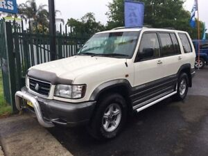 1998 Holden Jackaroo U8 SE LWB (4x4) White 4 Speed Automatic 4x4 Wagon Campbelltown Campbelltown Area Preview