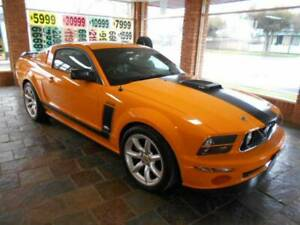 Ford Mustang Parnelli Jones Limited Edition Coupe. Orange Orange Area Preview