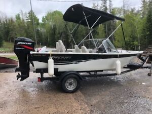 2003 16ft 50HP Starcraft boat - Tentatively Sold