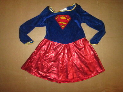 Girls SUPERGIRL superman  superwoman Halloween Costume M Md Med Rubies