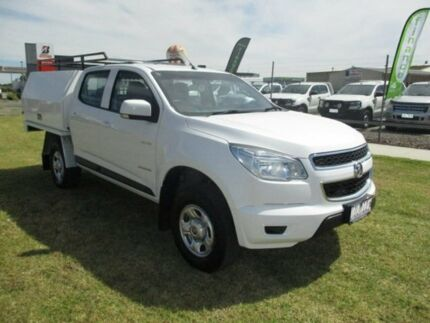 2014 Holden Colorado White Sports Automatic Cab Chassis Pakenham Cardinia Area Preview