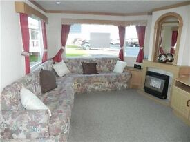 cheap static caravan for sale NORTH EAST COAST 12 months season SEAVIEW PITCH