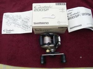 SHIMANO RIGHT HAND LOW PROFILE BAITCASTING REEL