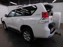 2011 Toyota Landcruiser Prado KDJ150R GXL (4x4) Glacier White 5 Speed Sequential Auto Wagon Clemton Park Canterbury Area Preview