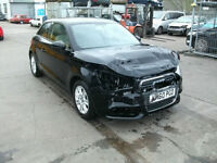 2011 Audi A1 1.6TDI 105ps SE 3DR SALVAGE DAMAGED REPAIRABLE DRIVES