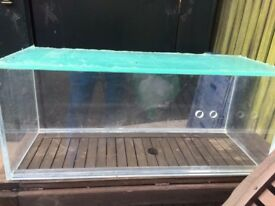"30"" x12"" x12"" Acrylic fish tank for sale"