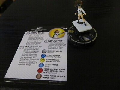 Heroclix DC Justice League Ace #058 Super Figure With Card