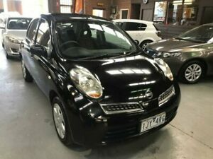2007 Nissan Micra K12 Black 4 Speed Automatic Hatchback Dandenong South Greater Dandenong Preview