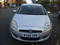 Fiat BRAVO 1.4 T-Jet Active 5dr, 2008 model, Long MOT, low insurance & tax