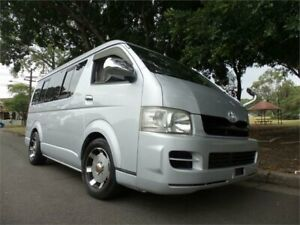 2007 Toyota HiAce Camper Widebody Midroof SWB 2007 Camper WIdebody GL Camper Silver Automatic Camper Concord Canada Bay Area Preview
