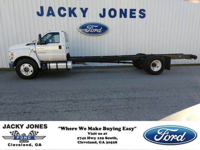 2017 FORD Super Duty F-650, White with 17111 Miles available now!