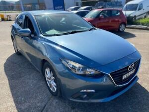 2015 Mazda 3 BM5476 Touring SKYACTIV-MT Blue 6 Speed Manual Hatchback Wickham Newcastle Area Preview