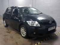 Toyota AURIS T3 VVT-I-Finance Available to People on Benefits and Poor Credit Histories-