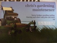 "chris""s gardening services &maintenence"