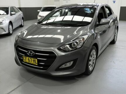 2015 Hyundai i30 GD3 Series II Active Hatchback 5dr Spts Auto 6sp 1.8i [MY16] Grey Sports Automatic