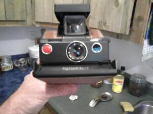 old Kodak folding camera