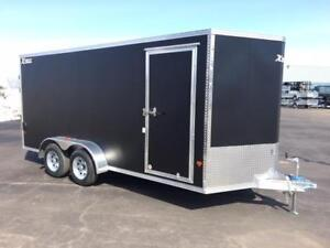 NEW 2018 XPRESS 7' x 16' CARGO TRAILER w/  STOW-ABLE RAMPS