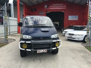 2005 Mitsubishi Delica PD8W Spacegear Green 4 Speed Automatic 3d Van Wagon Clontarf Redcliffe Area Preview