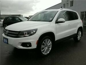 2014 Volkswagen Tiguan Highline 2.0T w/4MOTION LOW KMS ! BC Vehi