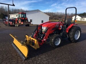 McCormick 35hp Tractor with Loader & Blade - 5 YEAR WARRANTY!