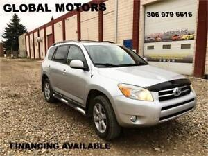 2007 TOYOTA RAV4 LIMITED - FINANCING AVAILABLE