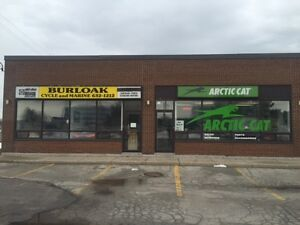 BURLOAK CYCLE AND MARINE ARCTIC CAT AND SKIDOO PARTS AND SERVICE