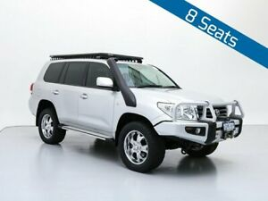 2007 Toyota Landcruiser VDJ200R GXL (4x4) Silver 6 Speed Automatic Wagon