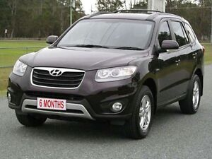 2012 Hyundai Santa Fe CM MY12 SLX Maroon 6 Speed Sports Automatic Wagon Stapylton Gold Coast North Preview