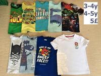 t-shirts 3-5y