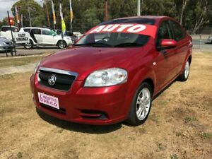 2011 Holden Barina TK MY11 Maroon 4 Speed Automatic Hatchback Clontarf Redcliffe Area Preview